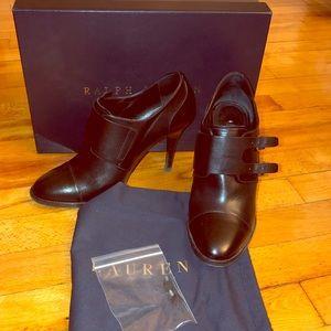 WORN ONCE Ralph Lauren cute black booties
